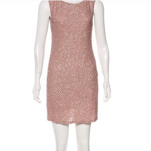Alice+Olivia Pink Sequin Dress